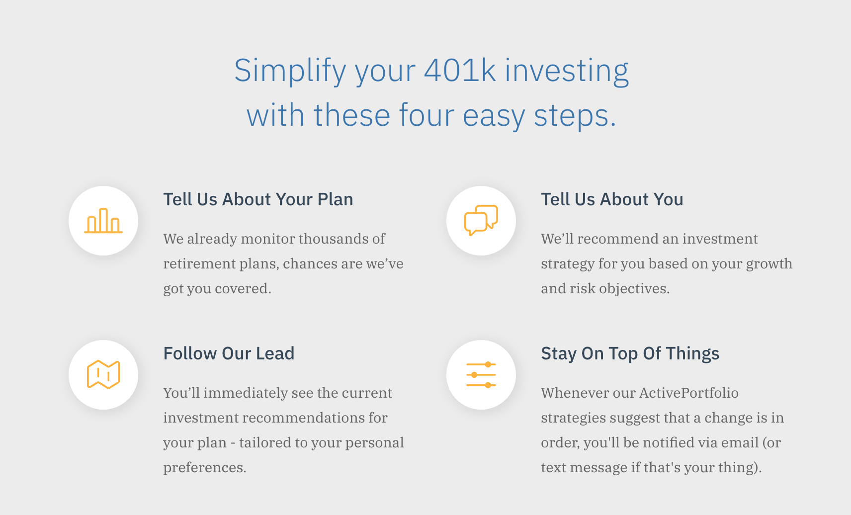 Simplify with Active401k